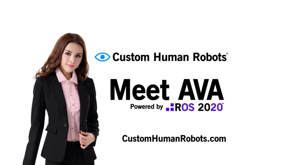 Custom Human Robots AVA